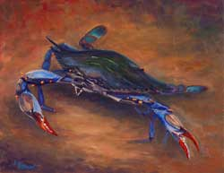 Blue Crab Painting Prints