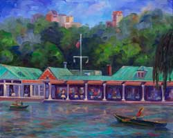 Boathouse Restaurant Central Park NYC