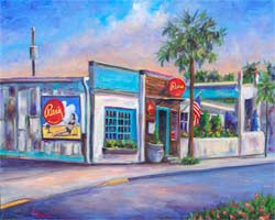painting of Rita's Seaside Grille
