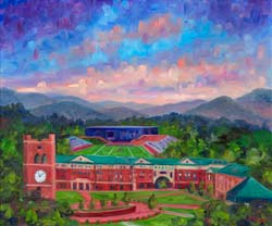 WCU Cullowhee Campus Painting Prints