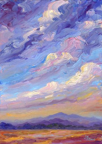 Hawkins Oil Painting