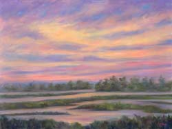 Low country Marsh Sunset