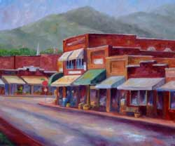 Downtown Black Mountain Art - Broadway Street