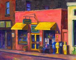 Sunnyside Cafe Painting and Prints