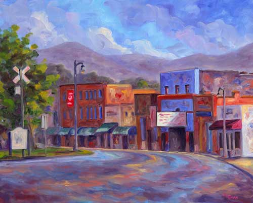 Downtown tryon Art